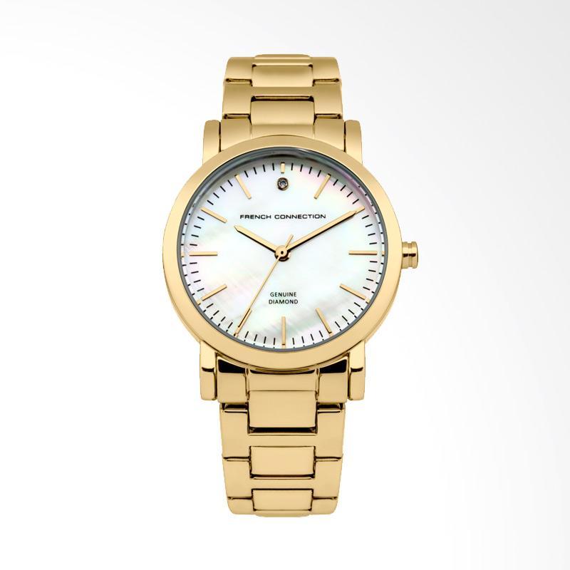FCUK FC1250GM Bracelest Watches Jam Tangan Wanita - Gold