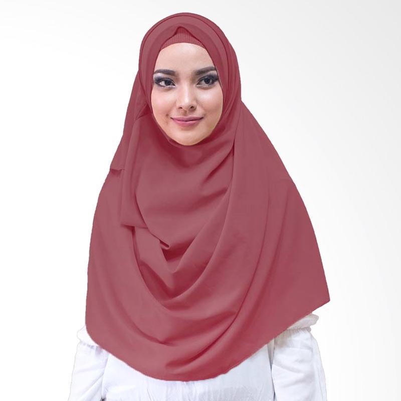 Milyarda Hijab Athaliali Hijab Instan - Maroon