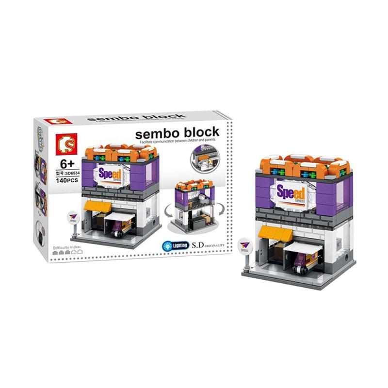 Sembo Sd6534 Speed Express Mini Blocks