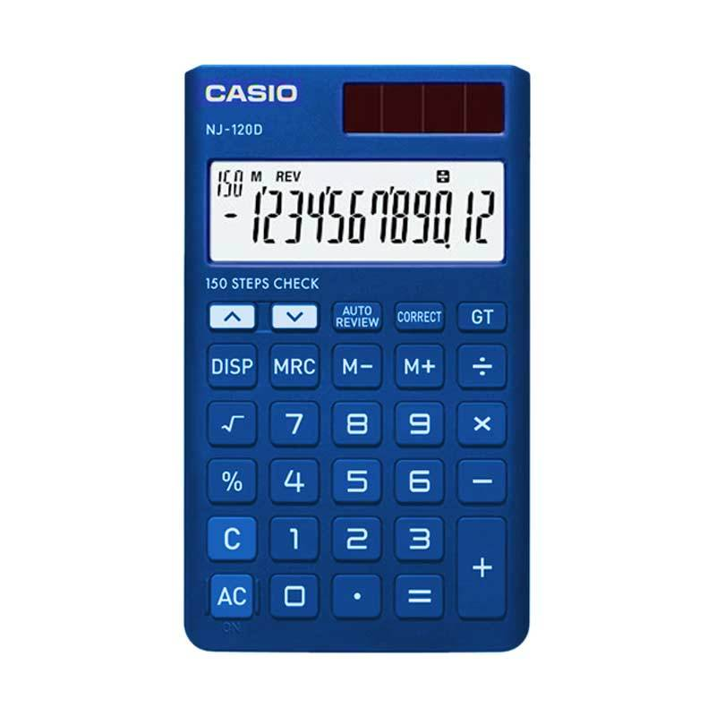 harga CASIO C-NJ-120 DBU Calculator Blibli.com