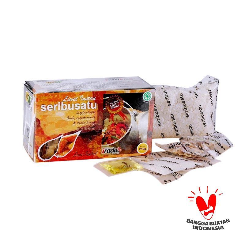 2 Boxes Nasi 1001 Liwet Rasa Jambal Makanan Instan [2 x @250 g]
