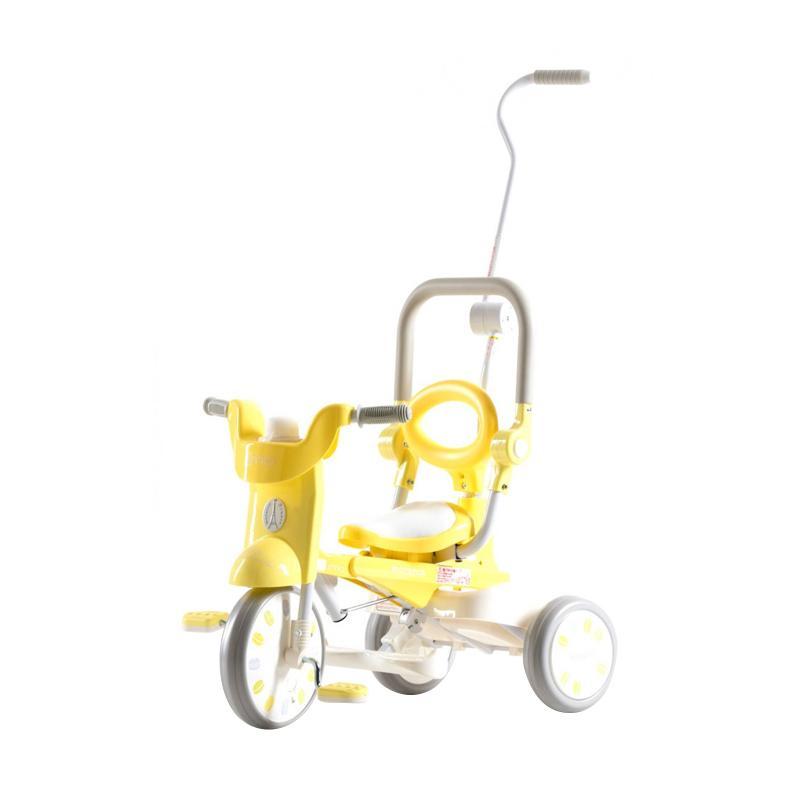 IIMO Tricycle Sepeda Lipat Roda Tiga - Macaron Yellow