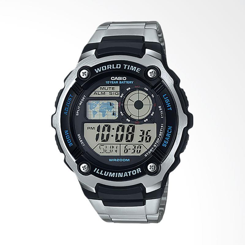 Jual CASIO Jam Tangan Pria - Black Silver AE-2100WD-1AVDF Online - Harga    Kualitas Terjamin  5c1e25823d