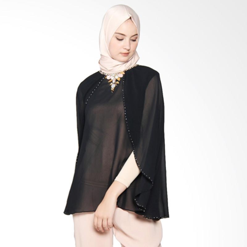 Yanna Azwar Yasmine Blouse Black