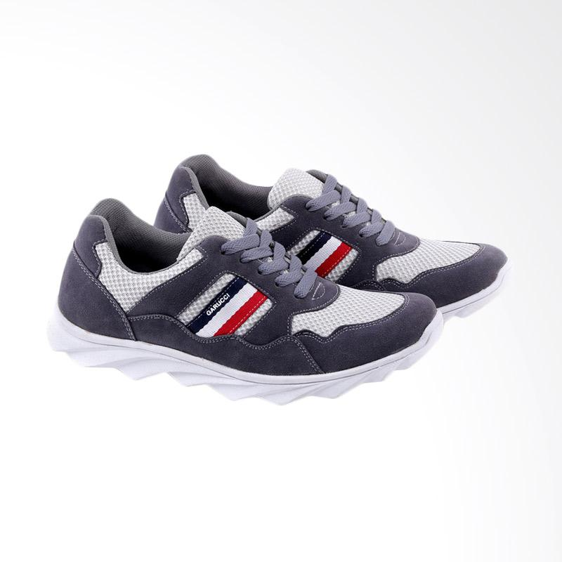 Garucci Sneakers Shoes Pria - Grey GOP 1229
