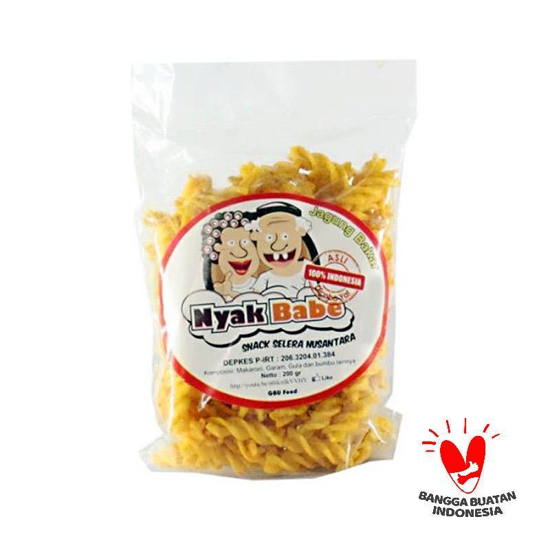 harga Nyak Babe Makaroni Rasa Jagung Bakar Snack Selera Nusantara [200 gr] Blibli.com