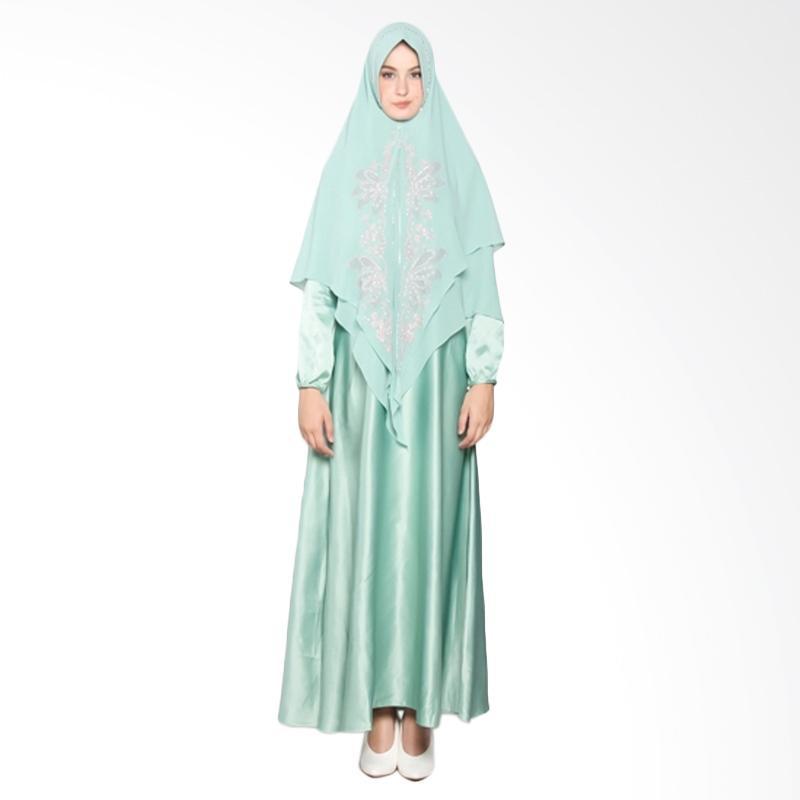 Yanna Azwar Jamilah Syar'i Set Gamis - Green