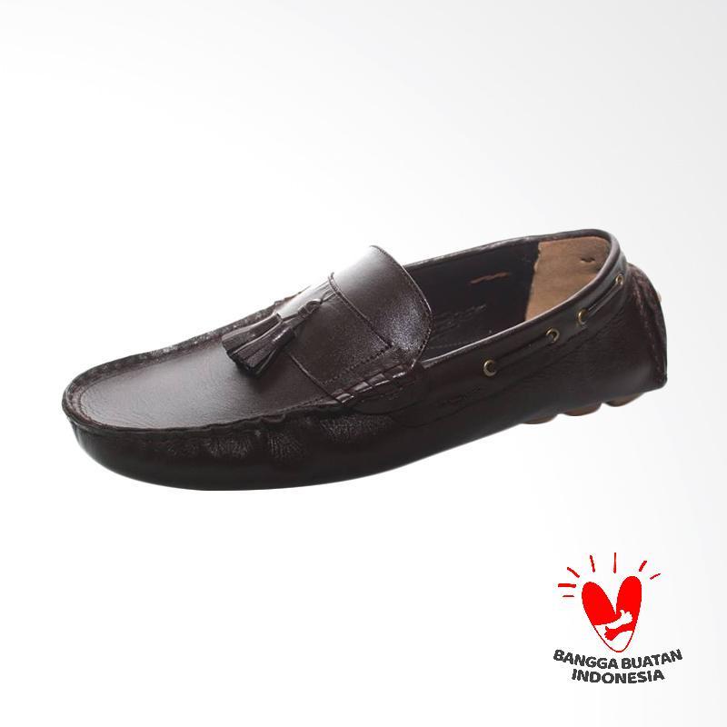 GRUTTY Sepatu Kasual Pria - Coffee Brown GR 81047