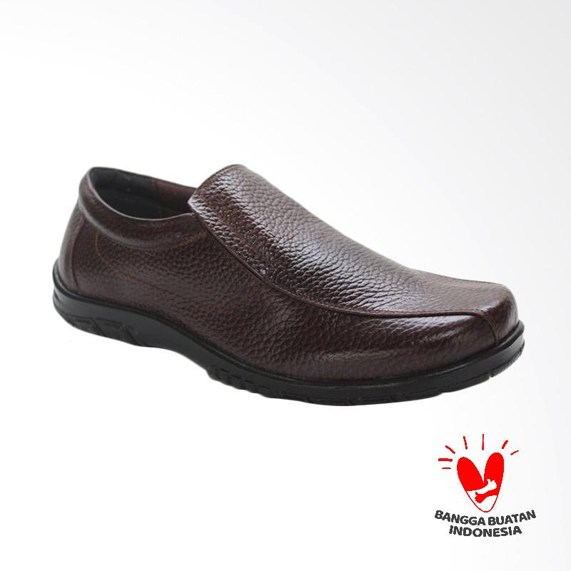 GRUTTY Sepatu Kasual Pria - Coffee Brown GR 81068