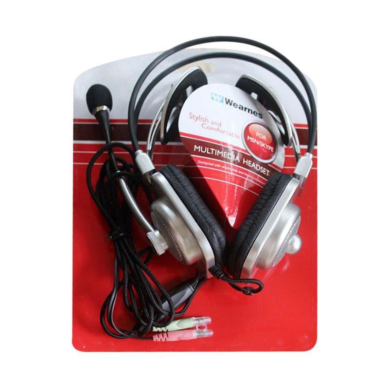 Jual WEARNES WHS-4001 Multimedia Headset - Hitam Online - Harga & Kualitas Terjamin | Blibli.com