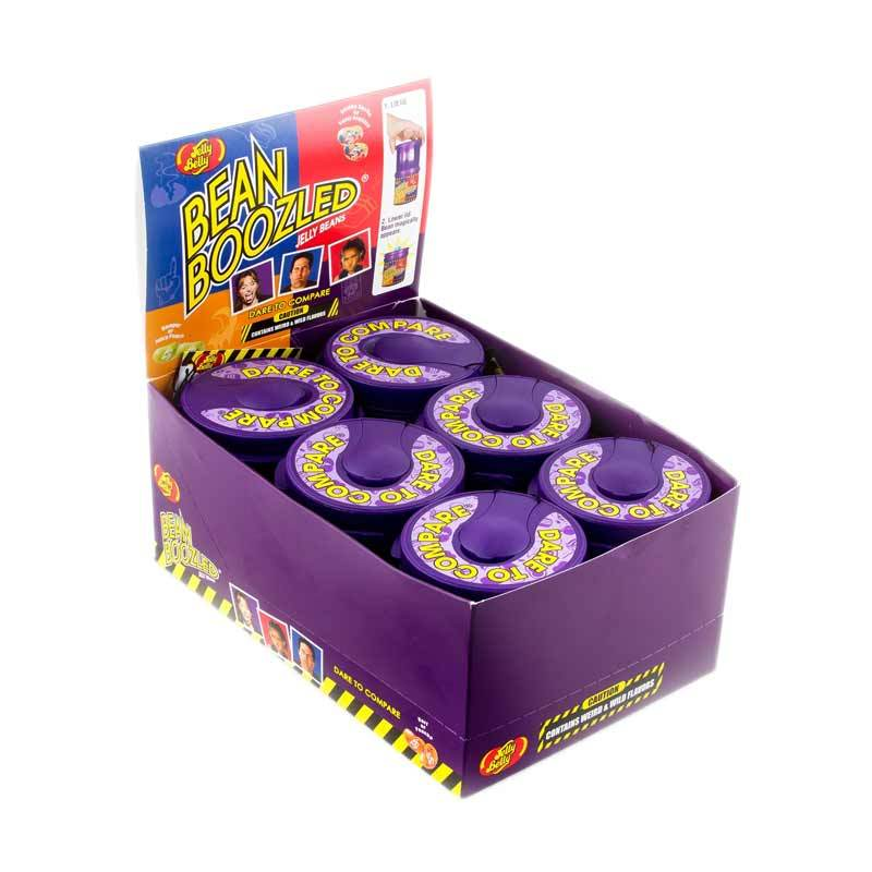 Jelly Belly BeanBoozled Mystery Bean Dispenser Permen [3.5 Oz/6 Pack]