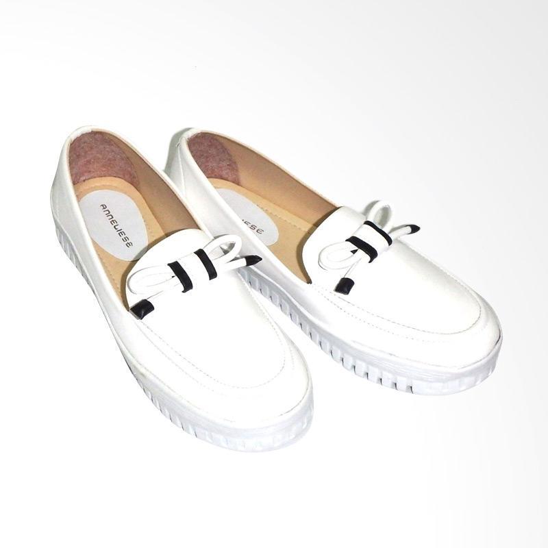 Anneliese Woman Sepatu Slip On - Gipsy Putih
