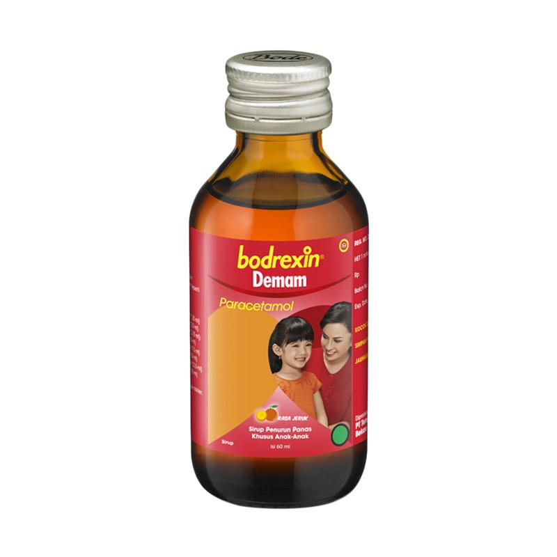 Bodrexin Demam Orange Syrup [60 mL]