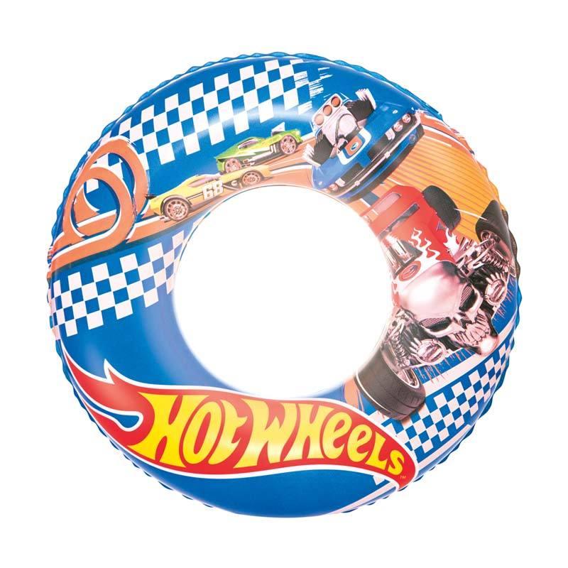 Bestway Karakter Hotwheels Swim Ring Pelampung Renang