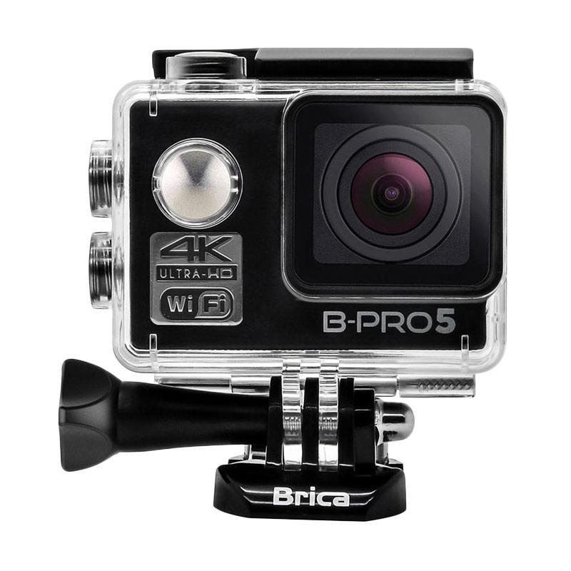 Brica B-PRO 5 Alpha Edition Mark II AE2 Combo Brica Deluxe Paket Action Camera - Hitam