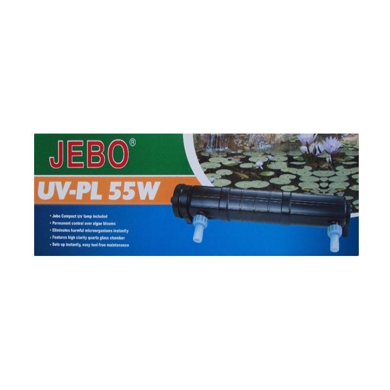 Jebo UV H-55 Ultra Violet Untuk Akuarium dan Kolam - Black