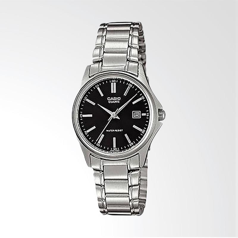 Casio Standard LTP-1183A-1ADF Quartz Ladies Watch Stainless Steel Jam Tangan Wanita