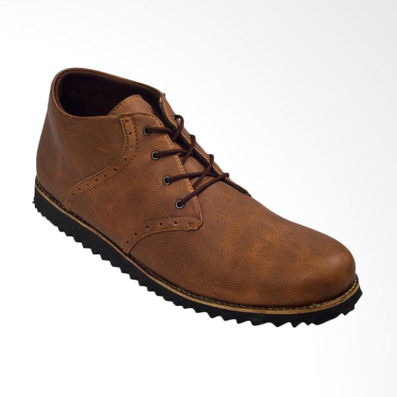 Giant Flames Kaname Boots Sepatu Pria - Brown
