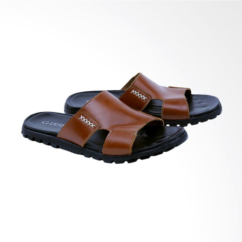 Garsel Sandal Kasual Pria - Tan GI 3414