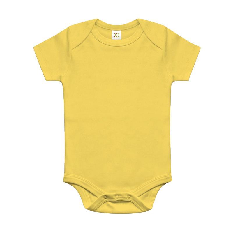 Miabelle Bodysuit Single Pakaian Bayi - Yellow