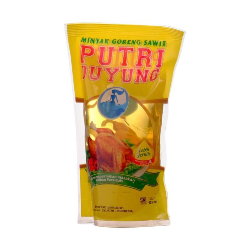 Putri Duyung Minyak Goreng Pouch [425 mL x 4 Pcs]