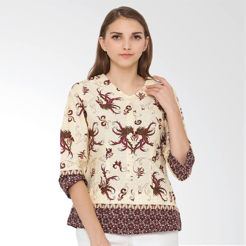 A&D Fashion Ms 720A Ladeis Casual Batik Wanita - Brown