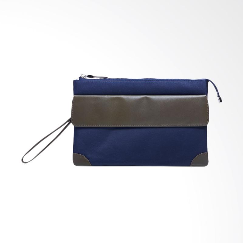 Amore Daniel Stark - 3 Layers Pouch - Navy Blue