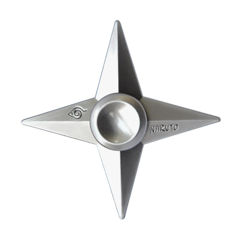 Smile Ninja Genji Shuriken 4 Side Metal Hand Spinner