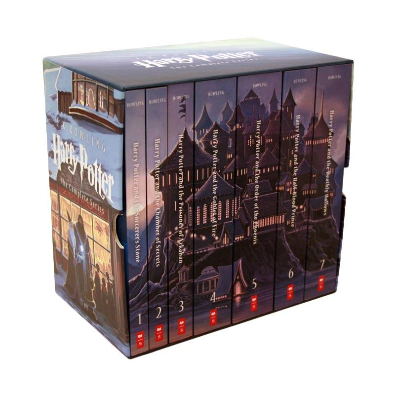 Harry Potter Complete Book Series Special Edition Boxed Set by J.K. Rowling New Buku Novel