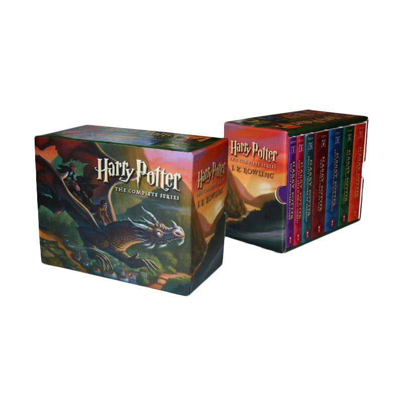 J. K. Rowling Harry Potter Paperback Box Set by J. K. Rowling Buku Novel