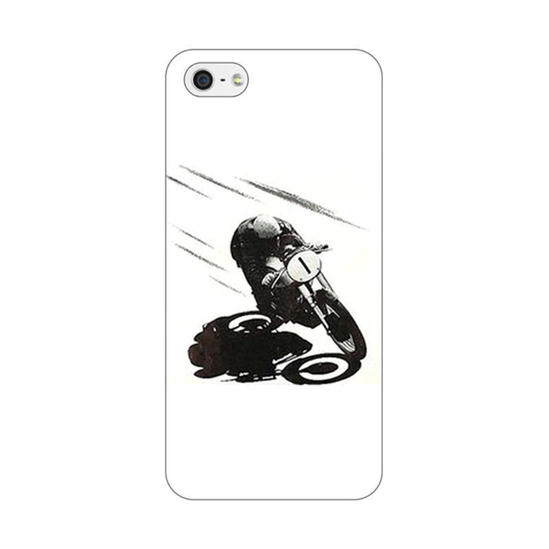 harga Kustom Kaze Cafe Racer 0313 Casing for iPhone 5/5S/5SE Blibli.com