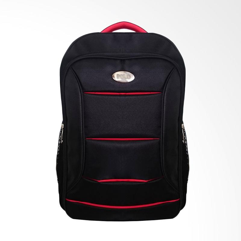 Polo Club Red Tiger Laptop Backpack Up To with Raincover Tas Pria [14 Inch]