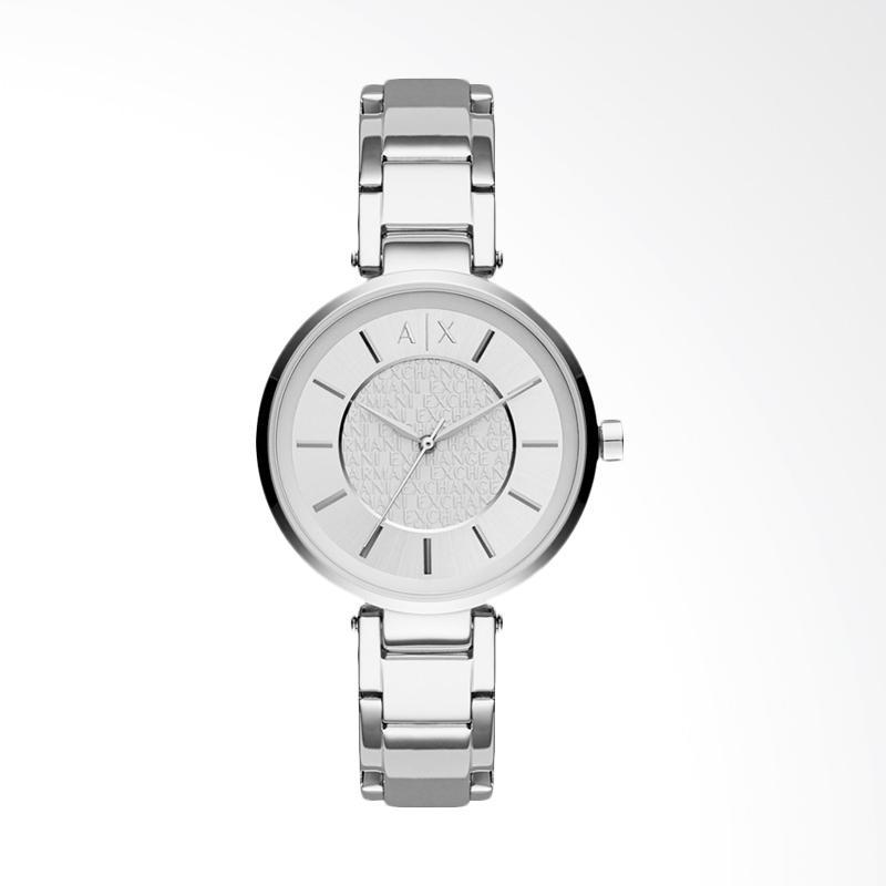 Armani Exchange AX5315 Ladies Stainless Steel Watch Jam Tangan Wanita - Silver Dial
