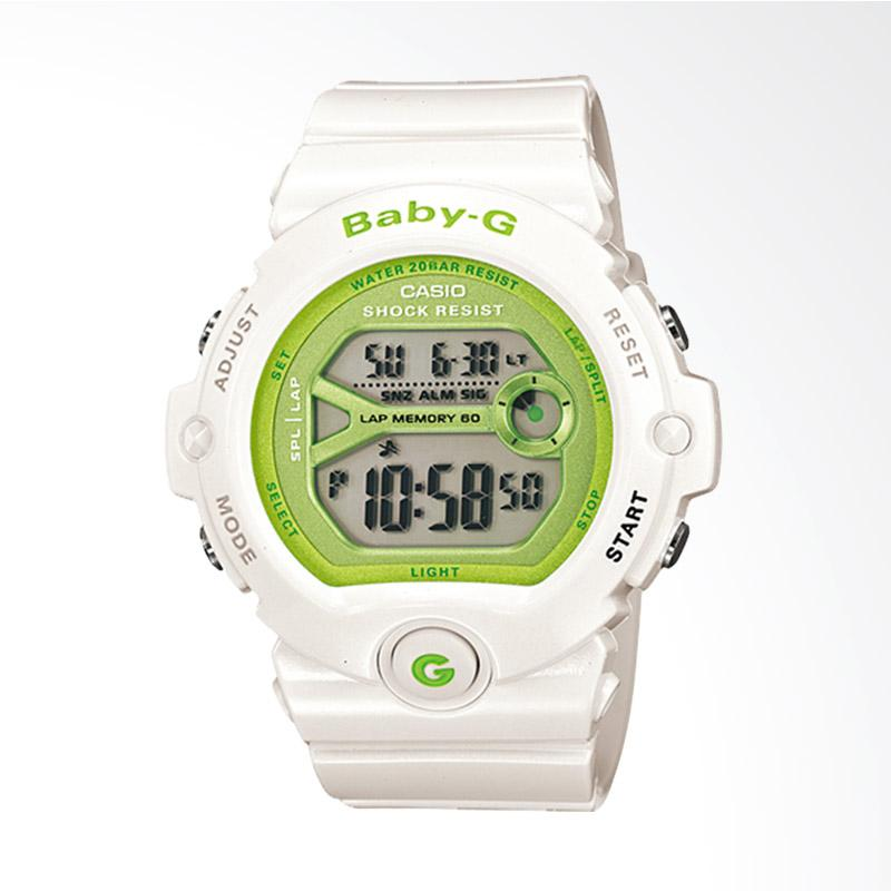 Casio Baby-G BG-6903-7DR Water Resistant 200M Resin Band Jam Tangan Wanita - White