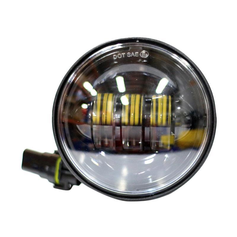 Autovision Spot Work Light Cree LED Bohlam Lampu Mobil [100 mm/12 V-24 V/9 W/6000 K]
