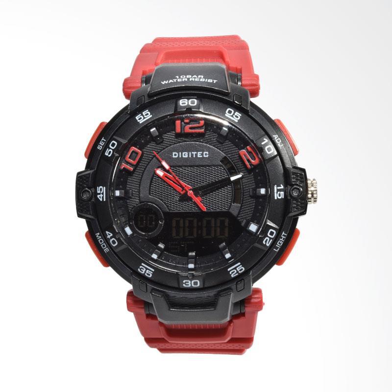 Digitec Jam Tangan Pria - Merah DG2105-C
