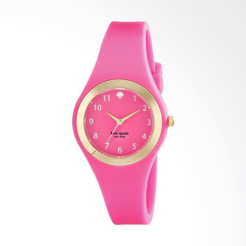 Kate Spade 1YRU0608 Rumsey Silicone Strap Watch Jam Tangan Wanita - Pink
