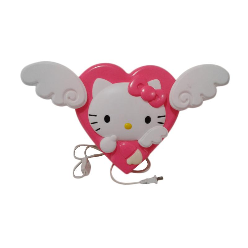 Hello Kitty Love Angle HK Lampu Hiasan - White Pink