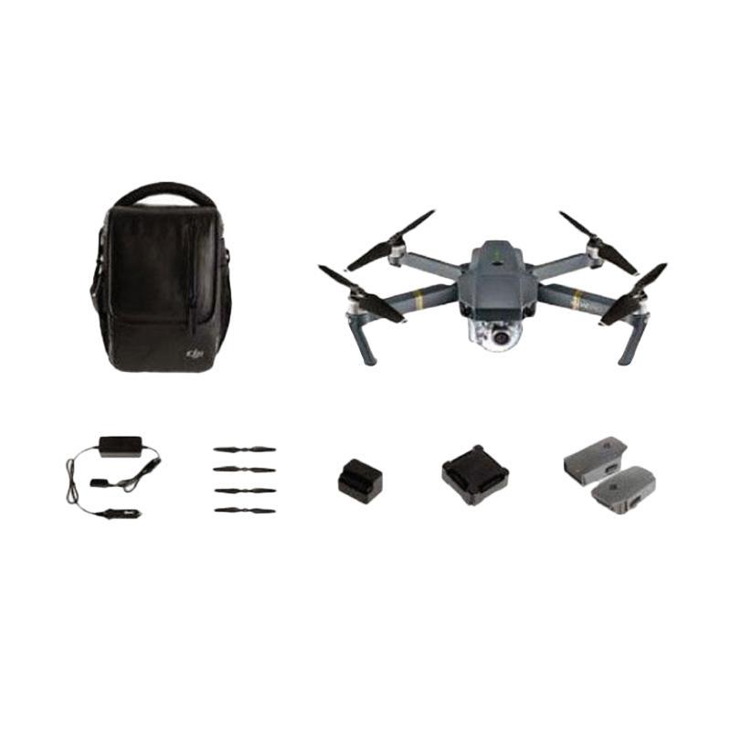 harga TERMURAH DJI Mavic Pro Combo Drone - Garansi 1 Tahun Blibli.com