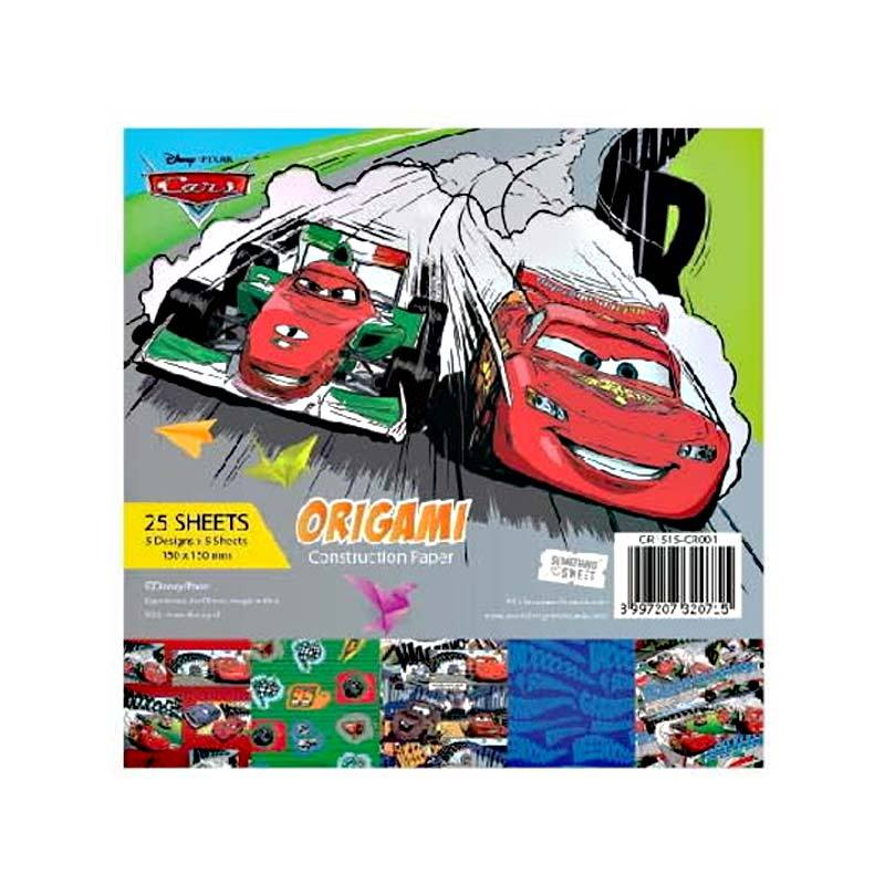 Something Sweet Disney Cars Lightning Mcqueen & Francesco OR 1515- CR001 Kertas Origami