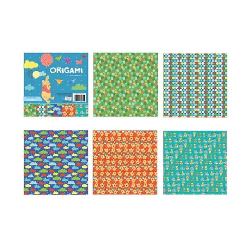 Something Sweet OR 1515- PH001 Disney Winnie the Pooh Ballons & Cloud Kertas Origami