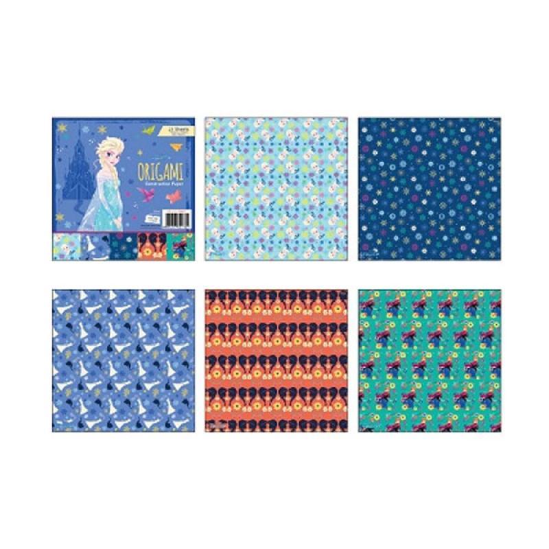 Something Sweet OR 1515- PR007 Disney Frozen Elsa The Snow Queen Kertas Origami