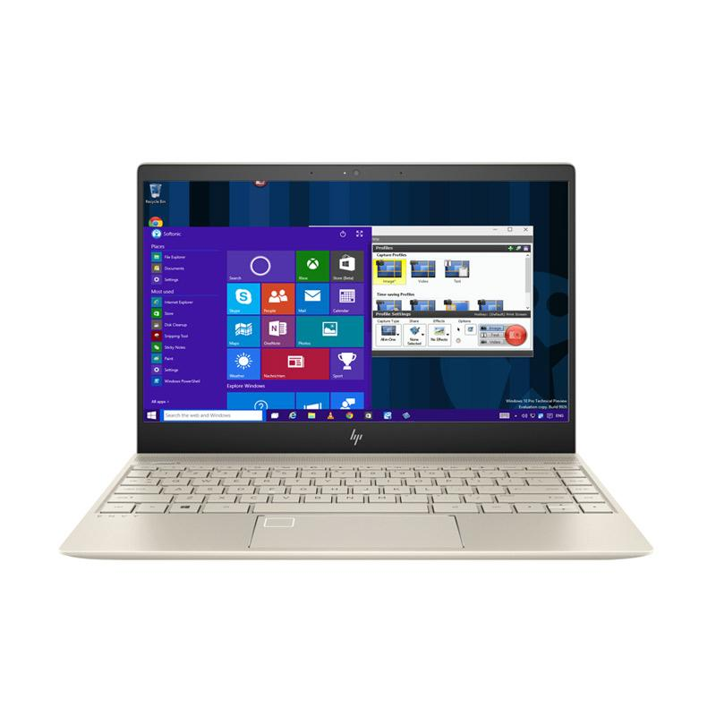 HP Envy 13-AD004TX Laptop - Gold [Intel Core i7-7500/8GB/512GB SSD/13.3 Inch FHD/Windows 10]