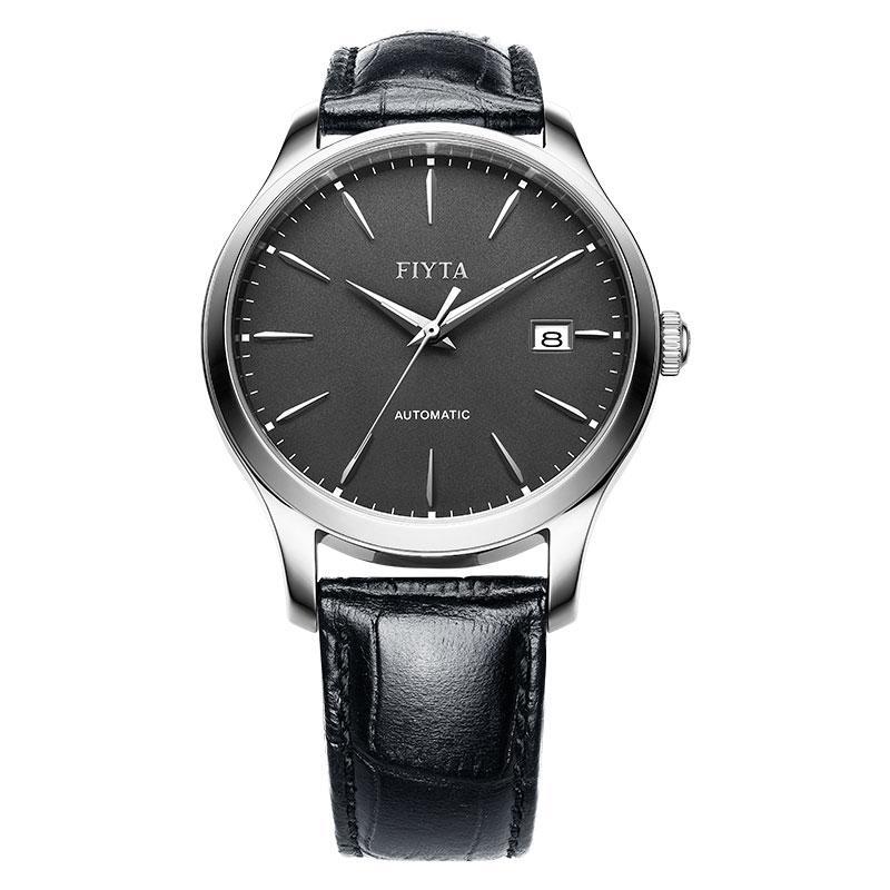 FIYTA Men Classic Automatic Watch WGA1010.WHB Jam Tangan Pria - Black