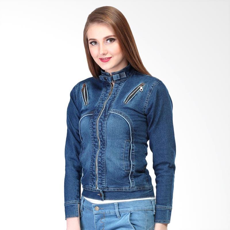 51 Model Jaket Jean Wanita Gratis Terbaik