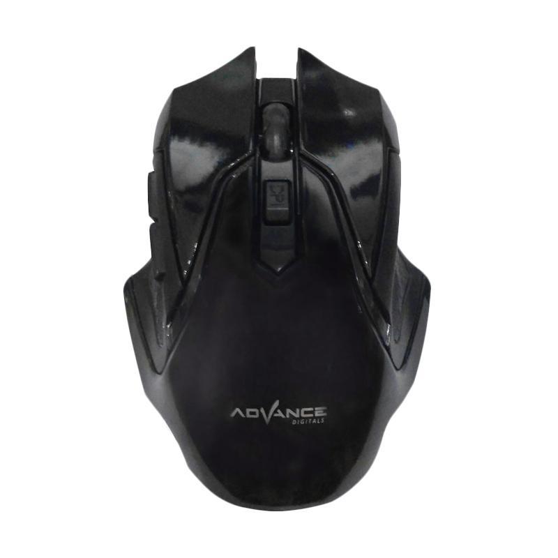 Advance WM501D Wireless Mouse - Hitam