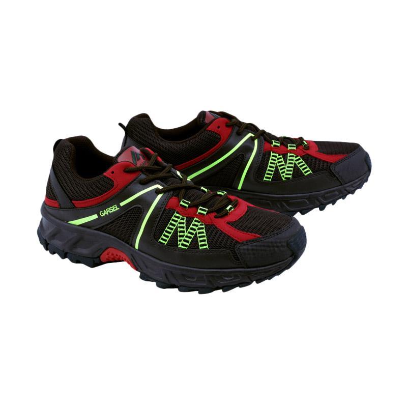 Garsel Running Shoes Sepatu Lari Pria - Coklat Kombinasi GRE 7010