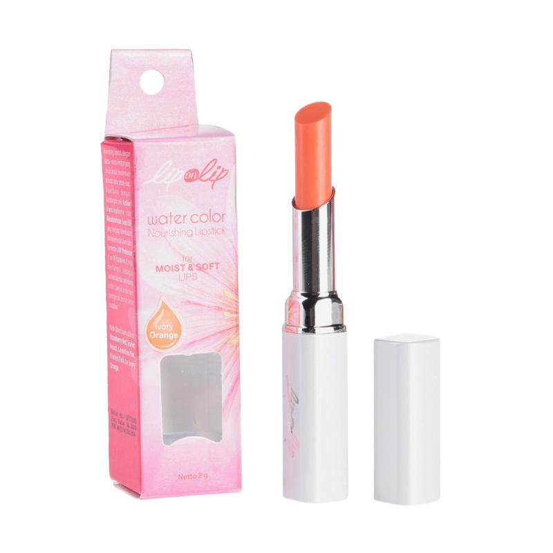 Lip on Lip Ivory Orange Lipstick