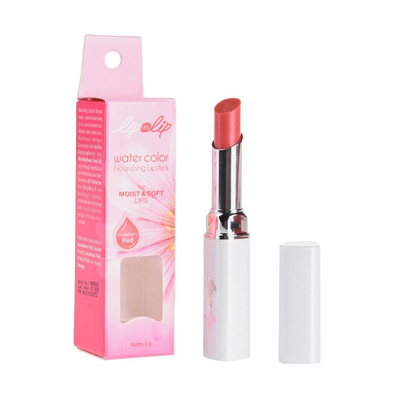 Lip on Lip Strawberry Red Lipstick