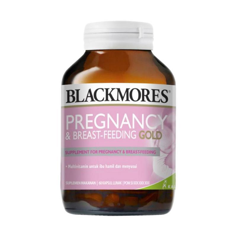Blackmores Pregnancy & Breast-Feeding Gold [60 Capsules]